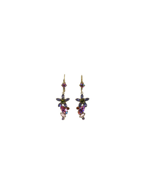 **SPECIAL ORDER**Sorrelli Coneflower Crystal Earrings~ EBL8AGCF
