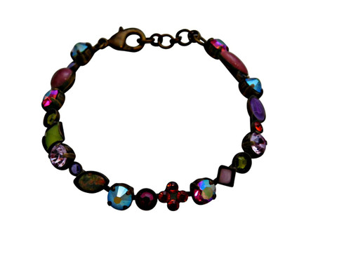 Sorrelli Coneflower Crystal Bracelet BAQ3AGCF