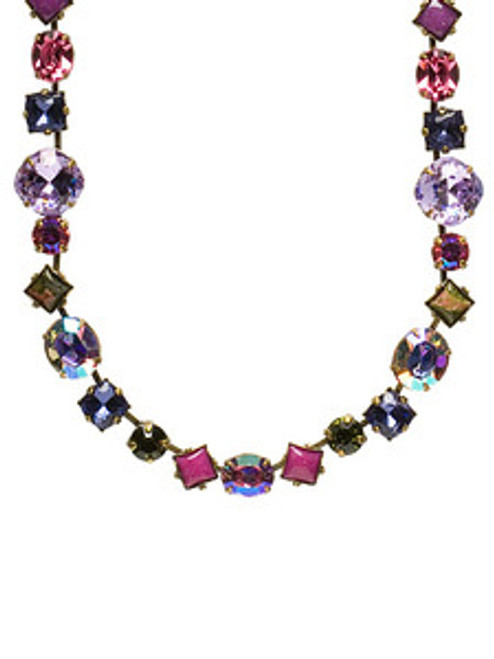 Sorrelli Coneflower Crystal Necklace NBP3AGCF