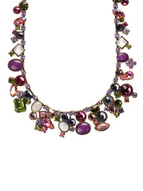 Sorrelli Coneflower Crystal Necklace NAX8AGCF