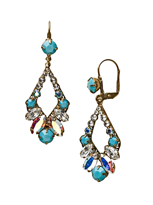 Sorrelli AZURE ALLURE- Adornment Earrings~ ECQ29AGAZ