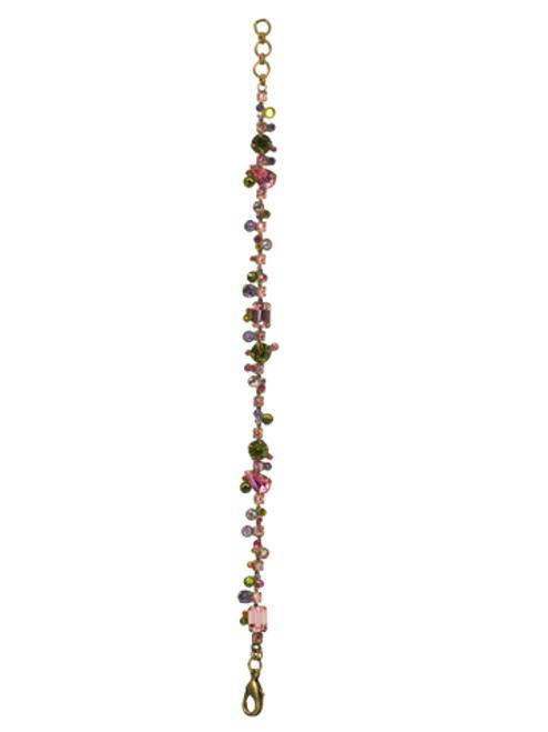 Sorrelli Coneflower Swarovski Crystal Bracelet ~BCC11AGCF