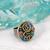 Michal Golan Emerald Circle Ring~R336