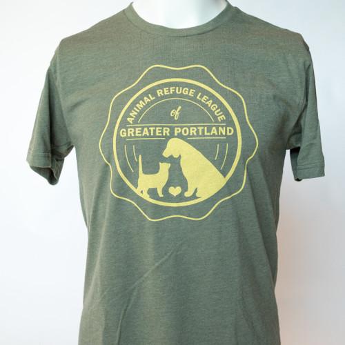 Logo T-Shirt: Green