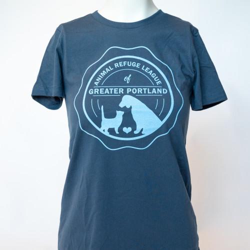Women's Logo T-Shirt: Blue