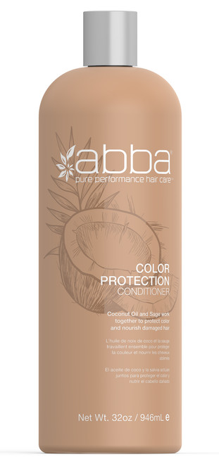ABBA LITER COLOR PROTECTION CONDITIONER 32OZ / 946ML
