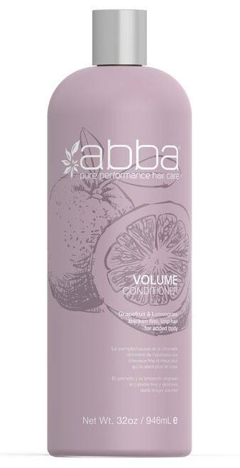 ABBA LITER VOLUME CONDITIONER 32OZ / 946ML