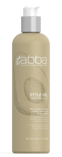 ABBA STYLE GEL 6OZ / 177ML
