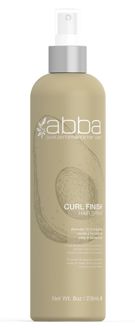 ABBA CURL FINISH SPRAY 8OZ / 236ML