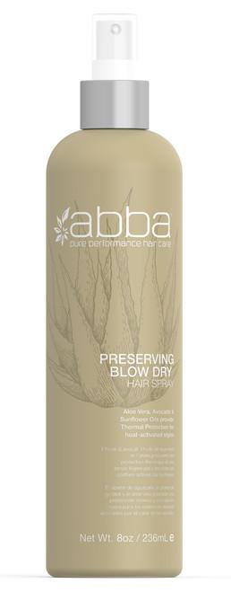 ABBA PRESERVING BLOW DRY SPRAY 8OZ / 236ML