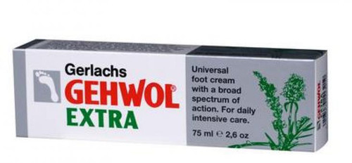 Gehwol Foot Cream Extra, 2.6 oz./75 ml