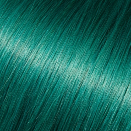 """Tape-In 18"""" Straight Teal"""