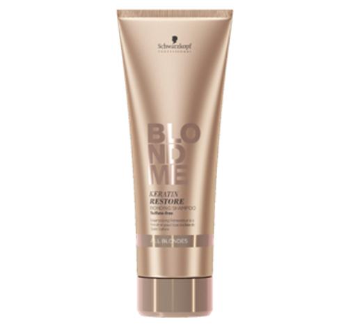 BLONDME Keratin Restore Bonding Shampoo All Blondes 8.4oz