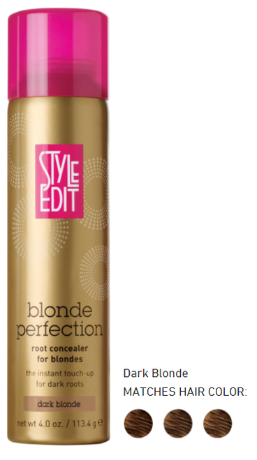 Style edit BLONDE root concealer Dark Blonde