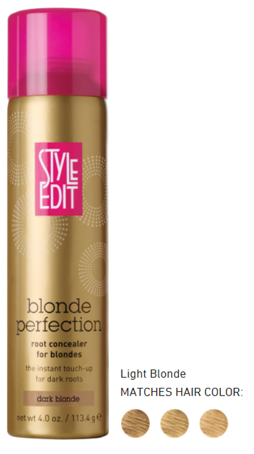 Style Edit BLONDE root concealer Light Blonde