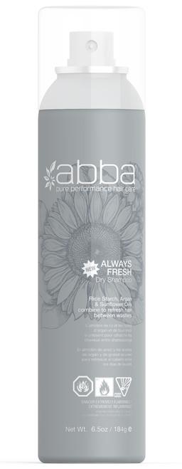 ABBA ALWAYS FRESH DRY SHAMPOO 6.5OZ / 184G
