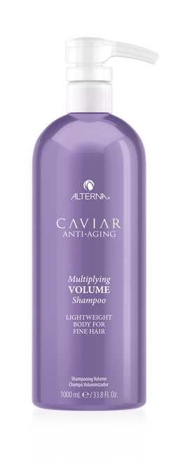 CAVIAR Anti-Aging Multiplying Volume Shampoo LITER 33.8oz