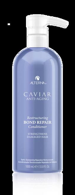 CAVIAR Anti-Aging Restructuring Bond Repair Conditioner LITER 33.8 oz