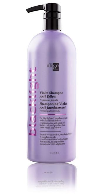 Oligo Blacklight Violet Shampoo 32oz  Anti-Yellow