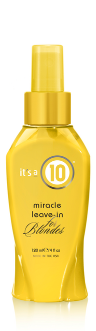Its a 10 Miracle Leave-in for Blondes 2oz