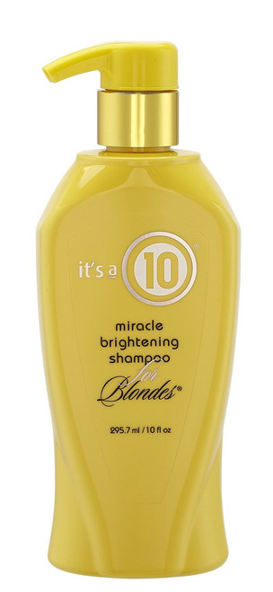 Its a 10 Miracle Brightening Shampoo for Blondes 10oz