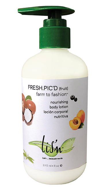 LIS'N Fresh.Pic'd (fruit) Nourishing Body Lotion 8oz