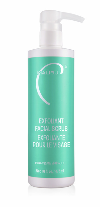 Malibu Skin Exfoliant Facial Scrub 16oz