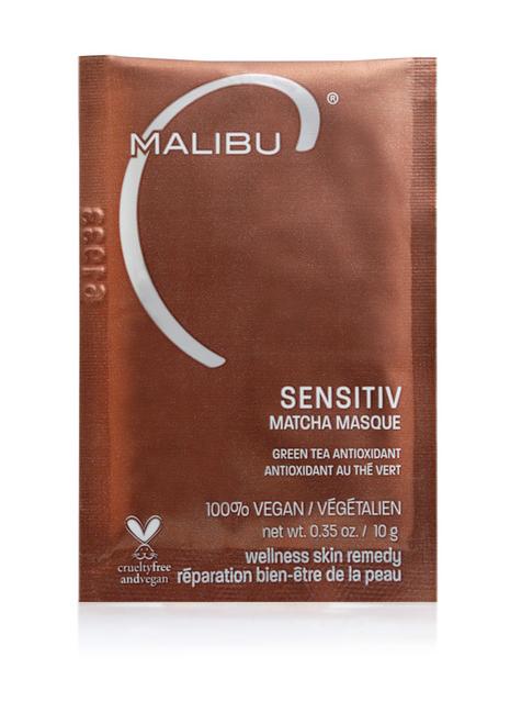 Malibu Skin Sensitiv Matcha Masque .34oz/10mL