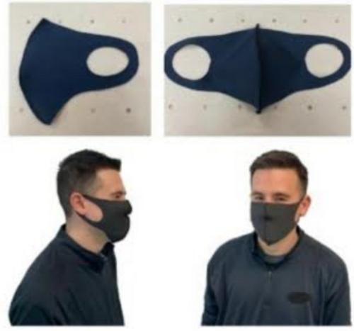 Washable Black Face Mask (Single)