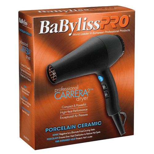 BaByliss Pro Porcelain Ceramic Carrera Dryer