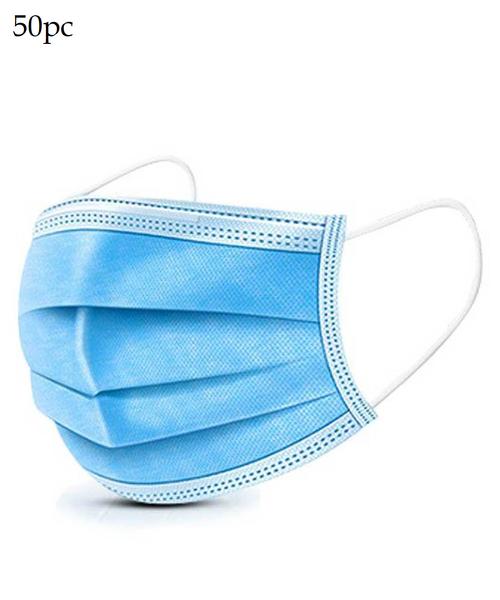OG Essentials 50 pack 3 ply Disposable Face Masks