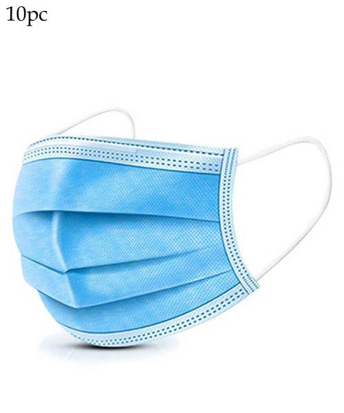OG Essentials 10 pack 3 ply Disposable Face Masks