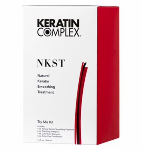 Keratin Complex Treatment Natural Smoothing Try Me Kit (NKST)