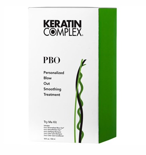 Keratin Complex Treatment Personalized Blow Out Try Me Kit (PBO)