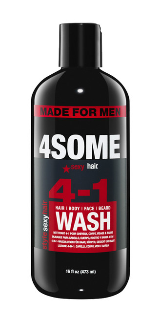 SySH 4Some Hair Body Face Wash 16 oz