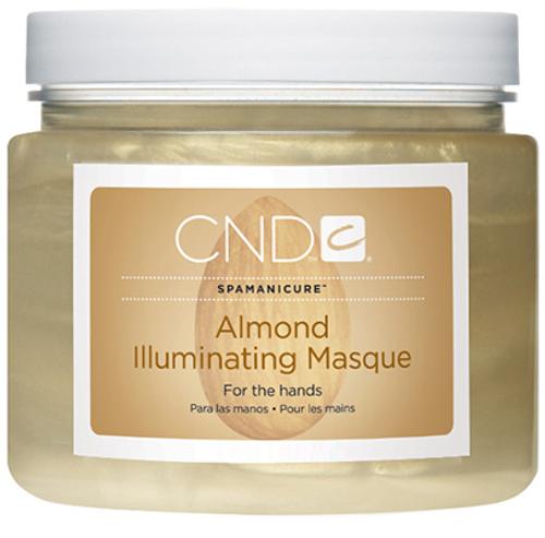Cnd Spa Almond Illuminating Masque 13.3oz