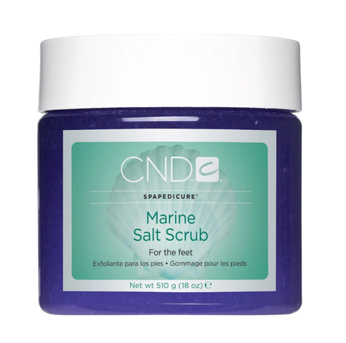 Cnd Spa Marine Salt Scrub 18oz