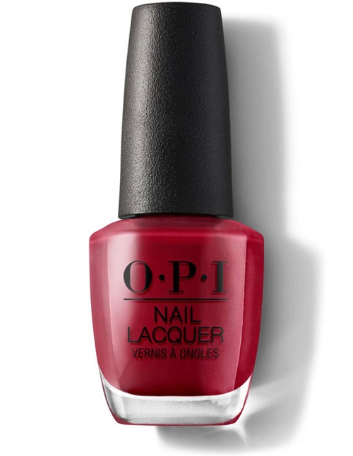 OPI LACQUER Chick Flick Cherry