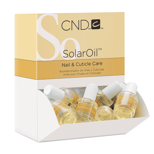 Cnd Cuticle Solaroil 0.125oz (x40) W/ Display