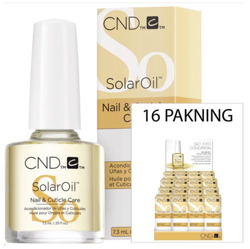 Cnd Cuticle Solaroil Display 0.5oz (x16)