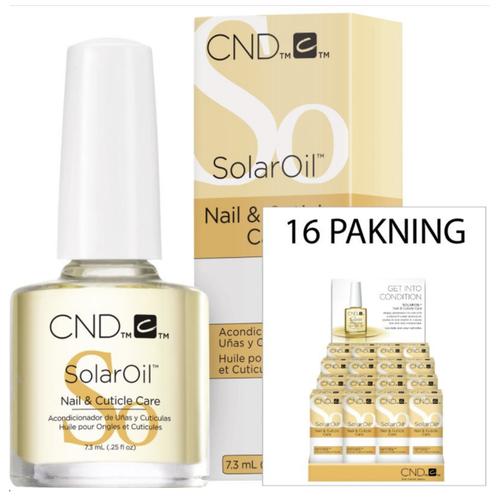 Cnd Cuticle Solaroil Display 0.5oz (x16)