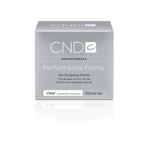Cnd Performance Forms Clear 300ct