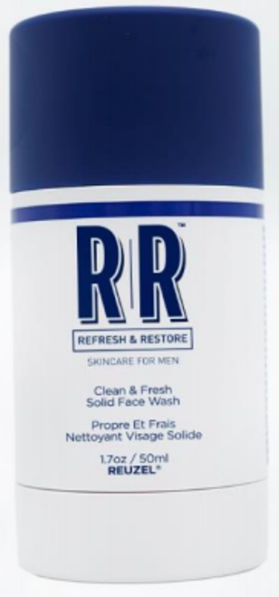 Reuzel R&R Clean & Fresh Solid Wash Stick 1.7oz/50ml