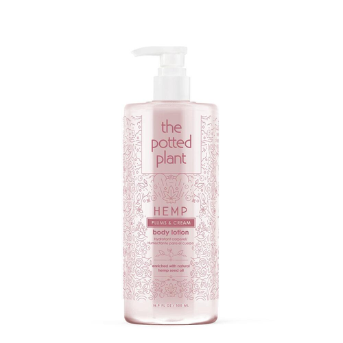The Potted Plant Plums & Cream Body Lotion 16.5oz
