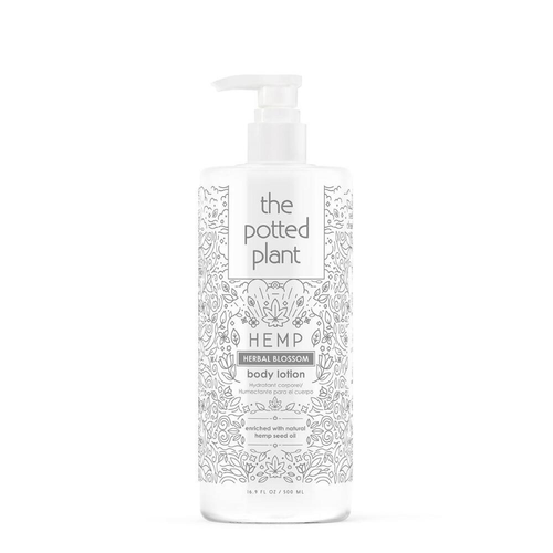 The Potted Plant Herbal Blossom Body Lotion 16.5oz