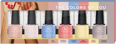 CND THE COLORS OF YOU SPRING 21 Display 4oz/120ml