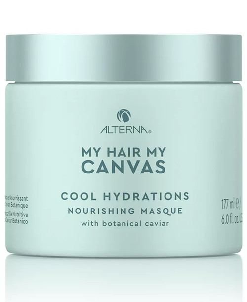 My Hair My Canvas Cool Hydrations Nourishing Masque 6oz