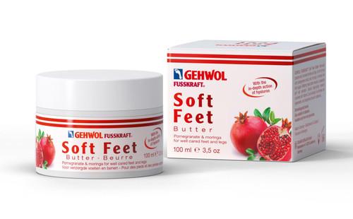 GEHWOL SOFT FEET BUTTER  Pomegranate & Moringa 3.5oz