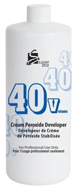 Super Star 32oz 40 Volume Cream Peroxide Developer