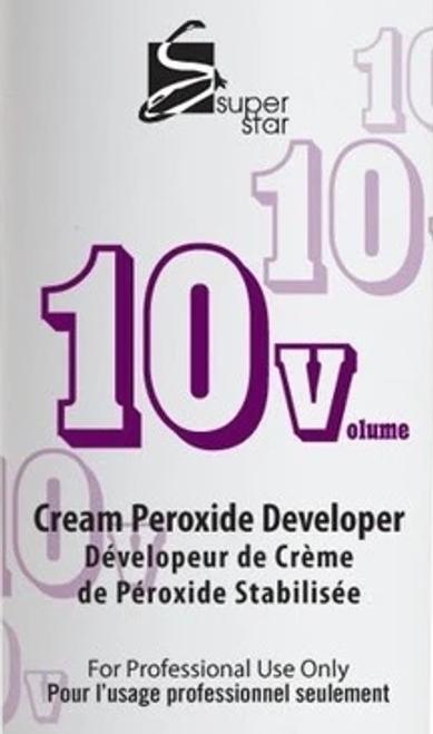 Super Star Gallon 10 Volume Cream Peroxide Developer